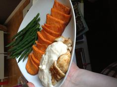 Chicken and sweet potato