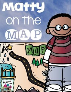 Me on the Map - This unit is a wonderful compliment to this popular book. Map skills and geography...fun! $