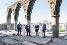 Dawn and Eddie our bride and groom with their bridal party photographed at Claregalway Castle Photography Klickapick Photography Wedding Gallery, Wedding Blog, Wedding Planner, Bride Speech, Romantic Times, Wedding Brochure, Civil Ceremony, Best Wedding Venues, Father Of The Bride