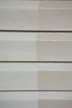 restoring vinyl siding with organic boiled linseed oil (VOC free)