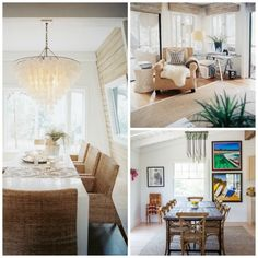 Summer bungalow design is breezy, casual and easy to create. Think about walks on the beach, natural fibers and straight forward lighting.