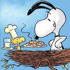 Snoopy Love, Snoopy Und Woodstock, Snoopy Comics, Bd Comics, Food Cartoon, Peanuts Cartoon, Peanuts Snoopy, Meu Amigo Charlie Brown, Charlie Brown And Snoopy