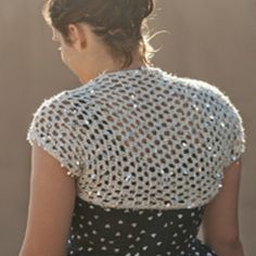 Crochet Pattern for Shrug
