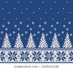 Fair Isle seamless knitting pattern – The Best Ideas Fair Isle Knitting Patterns, Christmas Knitting Patterns, Fair Isle Pattern, Knitting Charts, Hat Patterns, Lace Knitting, Tejido Fair Isle, Fair Isle Chart, Stocking Pattern