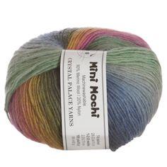 Crystal Palace Mini Mochi Yarn - 308 Rainbow Trout at Jimmy Beans Wool