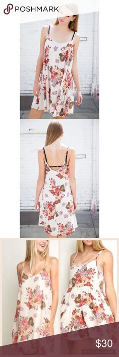 Brandy Melville Gaby Dress Need an adorable dress for a Valentine's date or just to treat yourself? 💘 this Brandy Melville dress is seriously stunning. In excellent, like new condition in sold out color. RARE. One size fits all. Brandy Melville Dresses Mini