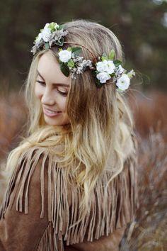 Woodland Wonders Crown in White