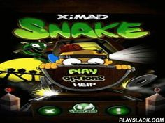 Snake  Android Game - playslack.com , Snake - one of the champion kinds of a classical game Snake performed by XIMAD team. wonderful graphics and gameplay will allow you to take feeling fully in the game activities and to disburse time well.