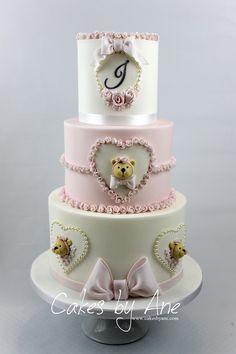 Original tarta para fiesta de Baby shower. #babyshower #tarta #pastel