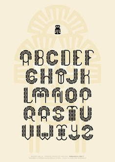 Typographic project of the Ecuadorian Valdivia cultureArt and design inspiration from around the world – CreativeRoots