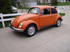 My first car, although I wish mine had looked this good. Still hooked on VWs. '72 Super Beetle