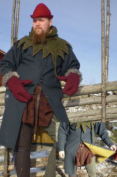 Dressing for 14th century Swedish winters - great article!  -JK