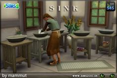 Blackys Sims 4 Zoo: Sink by mammut • Sims 4 Downloads
