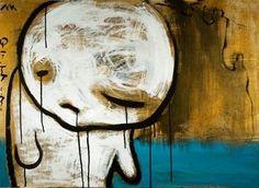 'Il bambino e il mare', 2010 by Eleonora Mazza - Painting Acrylic