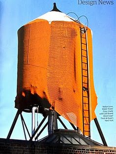 Knit a water tower!