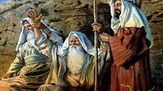 LA SANTA BIBLIA,VERSIÓN BIBLIA DE JERUSALÉN 1976, Éxodo 17