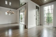 High gloss ceiling entry transitional interior designs with wood front door wood front door