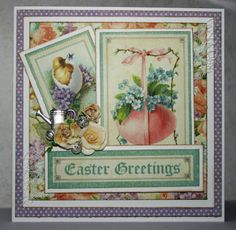 graphic 45 Sweet Sentiment – Easter Card | ciliinpapers