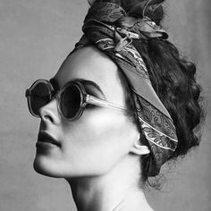 Turbans for summer chic and cooling.