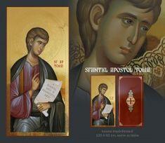 - Sfantul Apostol Toma Orthodox Icons, Mosaic, Baseball Cards, Oil Paintings, Movies, Movie Posters, Fresh, Ideas, Catholic Art