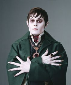 An Exclusive Look At Johnny Depp In Tim Burtons Dark Shadows