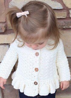 45 patrones de ganchillo de suéter de bebé gratis - Página 5 de 45  #ganchillo #gratis #pagina #patrones #sueter