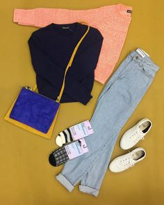 americanapparel:  Outfit idea for those days were you just want to roam around the city.