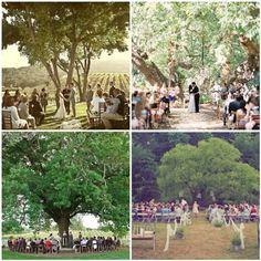 Outdoor weddings = <3
