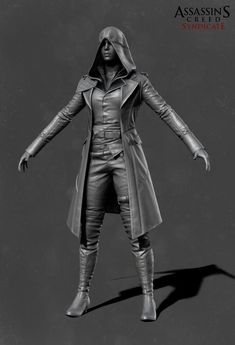 ArtStation - Evie's Military Suit (Assassin's Creed Syndicate), Stephanie Chafe