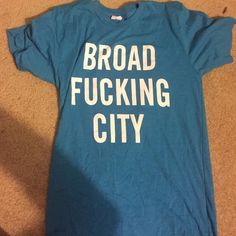 SDCC tee shirt! Broad City Comedy Central's Broad City Merch (-: NWOT American Apparel Tops Tees - Short Sleeve