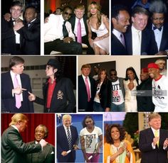 Don King, & many others hung out w/ for decades! So now that he's exposed the MEDIA & beat he's racist?
