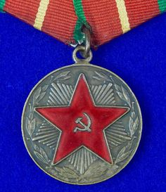 Soviet Russian USSR 20 Years Excellent Long Service MOOP Medal Order Badge Military Awards, 20 Years, Badge, Etsy, Products, Badges, Gadget