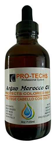 PROTECHS ARGAN MOROCCO OIL Protects all type of colored hair 4 oz  120ml >>> Want to know more, click on the image.