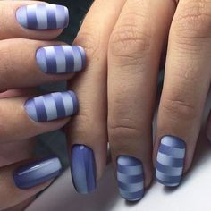 blue with stripes