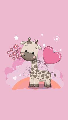 Cute W allpaper Cute Backgrounds, Wallpaper Backgrounds, Iphone Wallpaper, Kawaii Wallpaper, Animal Wallpaper, Cute Images, Cute Pictures, Baby Clip Art, Cute Cartoon Wallpapers