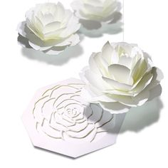 pop-up card rose https://paper-and-arts.amebaownd.com/ http://www.paperandarts.com