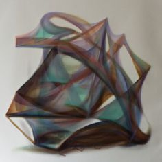 "Saatchi Art Artist: Naomi Yuki; Oil 2013 Painting ""Contribution"""