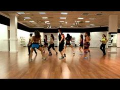 Zumba! One of my new routines. Super fun and fast. I like a lot of this groups routines on youtube.