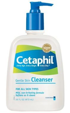 Cetaphil Gentle Skin Cleanser, For All Skin Types, 16 fl oz (Pack of 4) - All Your Health Needs® by All Your Health Needs, http://www.amazon.com/dp/B00CPSZS6Q/ref=cm_sw_r_pi_dp_t7VMrb07PN1T9
