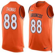 2016 Nike NFL Denver Broncos 94 DeMarcus Ware Orange Men Stitched Limited  Tank Top Jersey Devonta 7bb14648a