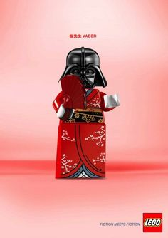 Sensei Vader - by LEGO