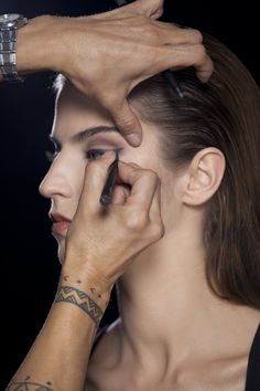 Step 3: Wing the Eyeliner Stylo at the outer corner of the upper lid. The wing can be subtle or exaggerated
