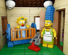 Springfield è di Lego, arrivano i mattoncini firmati Simpson - Spettacoli - Repubblica.it