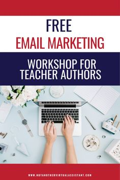 Free email marketing workshop for teacher authors! I'd love to help you with email marketing. I am an email marketing specialist who helps clients work less and maximize their earning potential with the power of a single email. #teacherauthors #tptauthors