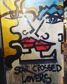 By @annalauriniblue  #soho #london #annalauriniblue #annalaurini #streetart #londonstreetart #streetartistry #streetartlondon #graffiti #londongraffiti #instagraff #graffitilovers #streetarteverywhere #instagraffiti #sprayart #wallporn #urbanwalls #notbanksyforum #streetartphotography