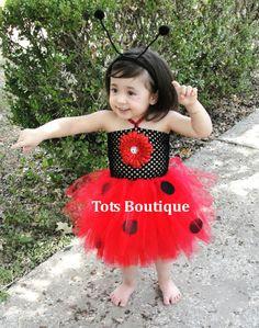 Ladybug Tutu Dress by TotsBoutique on Etsy, $35.00