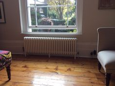 Column #radiators look great in traditional homes. Talk to Simply Radiators for more info.