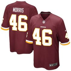 Alfred Morris Washington Redskins Nike Game Jersey - Burgundy. nfl ... a6ed98486