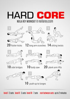 Hard Core WorkoutWorkout {EDL}