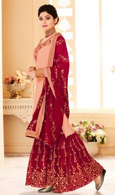 ead777ddb6 21 Best Latest Party Wear Bollywood Suits Designs 2019 images